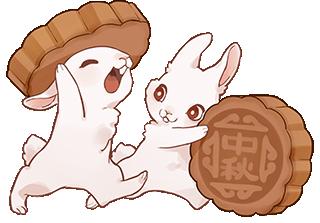 千库网_中秋抱着月饼的兔子_元素编号12534338